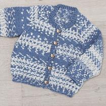 (K407 Raglan Cardi and Hat)