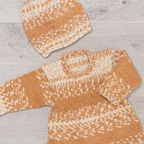 (K408 Sweater and Hat)