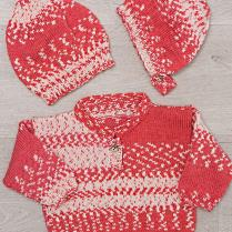 (K409 Sweater Hat and Bonnet)