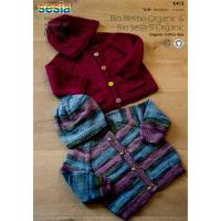 K415 Raglan Cardigan and Hat