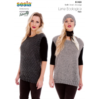 N1420 Sleevesless Pullover and Hat