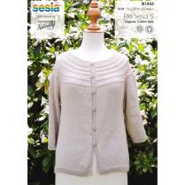 (N1433 Top Down Cardigan)