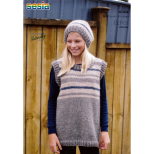 N1436 Sleeveless Pullover and Hat