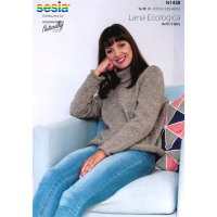 N1438 Rolled  Edges Sweater
