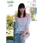 N1446 Yoke Sweater