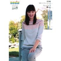 (N1446 Yoke Sweater)