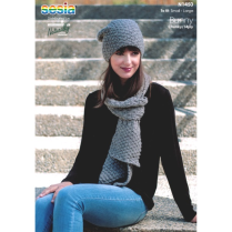 (N1450 Hat and Scarf)