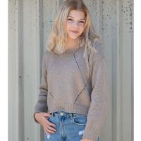 N1535 Travelling Lace Sweater