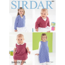 (4881 Cardigan and Pinafore)