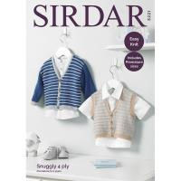 Sl4 5221 Cardigan and Vest