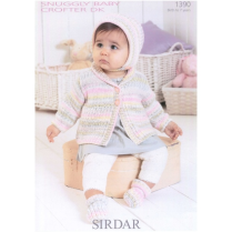 (1390 Jacket, Bonnet and Bootees)