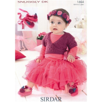 SLX 1464 Cardi, Shoes, Headband