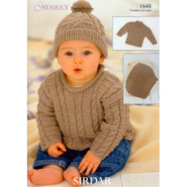 (SL8 1648 Sweater, Hat, Blanket)