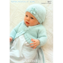 (SL8 1817 Bolero Cardi and Hat)