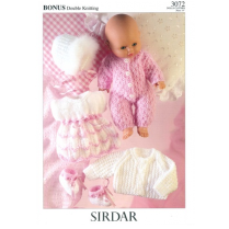 (3072 Dolls Clothes 8 Ply)