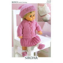 (3119 Dolls Clothes 8 Ply)