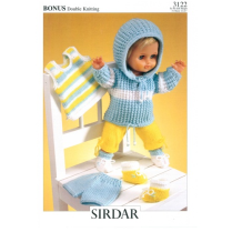 (SLA 3122 Dolls Clothes 8 Ply)