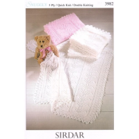 3982 Shawls in various plys