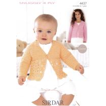 (SLX 4437 Cardigan Crochet)