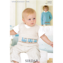 (SL8 4443 Sweater and Vest with Train)