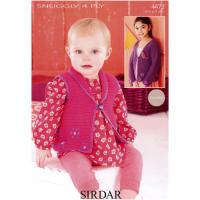 SLX 4473 Cardigan & Waistcoat