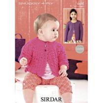(SLX 4476 Crochet Cardis)