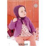 4478 Coat & Bonnet Crochet