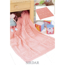 (SLA 4528 Butterfly & Flower Blanket)