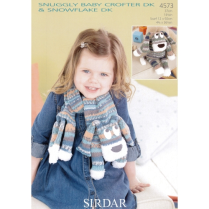 (4573 Novelty Scarf and Toy Dog)