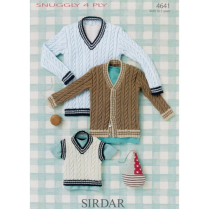 (4641 Sweater, Tank and Cardi)