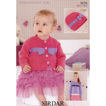 (SLX 4656 Cardigan and Hat)