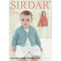 (4733 Baby and Girls Cardis)