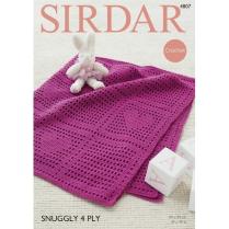 (4807 Crocheted Blanket)