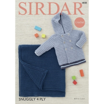 (4808 Crochet Jacket and Rug)