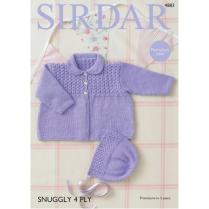(SL4 4883 Coat and Bonnet)