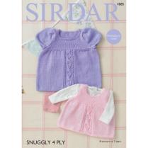 (SL4 4885 Dress and Pinafore)