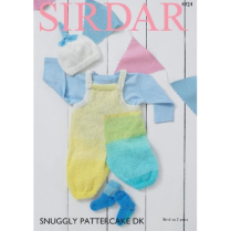 (SLX 4924 Dungarees Sock and Hat)