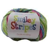(Smiley Stripes 8 Ply)