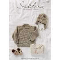 (SUBL6166 Childs Sweater and Helmet)