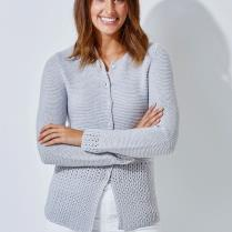 (TX336 Ladies Cardigan 5 Ply)