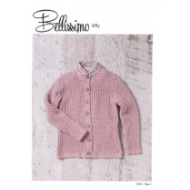 (TX351 Girls Cardigan 5 Ply)