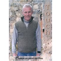 (TY056 Possum Zip Collar Vest)