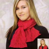 TY035 Cable Scarf