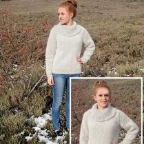 (TY053 Cowl Neck Jumper)