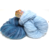 Brushed Mohair - Solid & Random 12 Ply