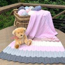 (Baby Waves Blanket)