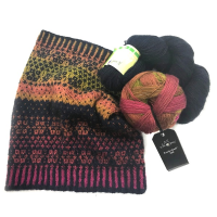 Shellie Fairisle Cowl