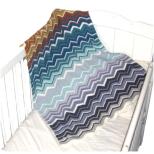 wx007 Miss Leonie Baby Blanket